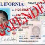 license suspension